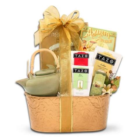buy tazo 174 zen tea and teapot gift set in green from bed