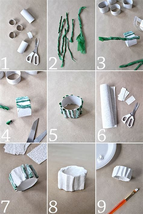 How To Make Paper Napkin Rings - 45 easy diy napkin ring ideas tastymatters