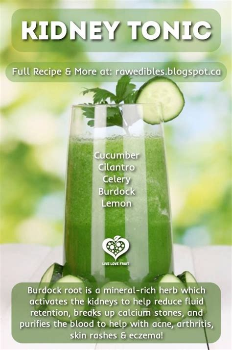 Detox Water For Liver And Kidneys by Kidney Tonic Diabetes Management Juice