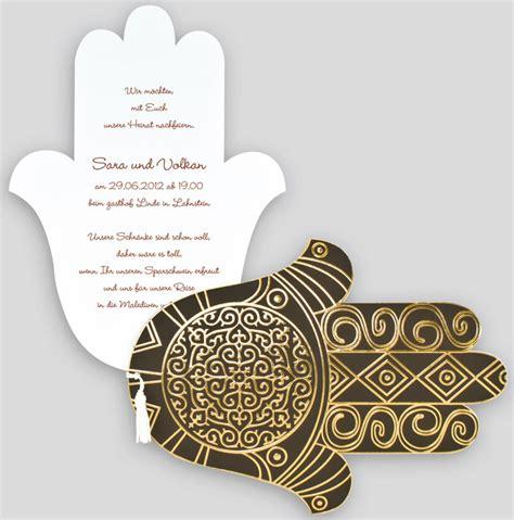 Rustikale Deko 3161 by Orientalische Einladungskarte Der Fatima Dunkelbraun