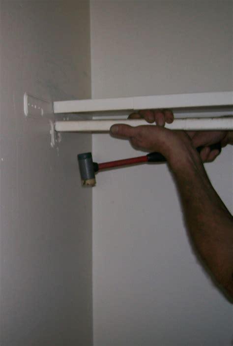 Hanging Closet Bar by Remove Hanging Bar Stow Tellu