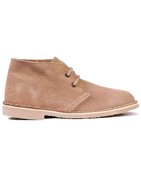 womens new suede desert boots roamers suede leather