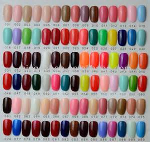 color chart of salon gel polish china manufacturer of uv