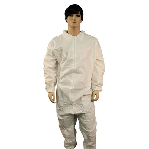 home depot paint jumpsuit promax coverall zipper front elastic wrist and ankles 25