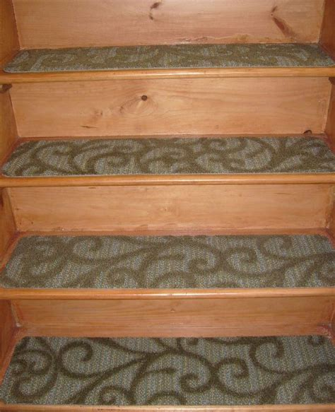 stair step rugs 13 step indoor stair treads non slip staircase step rug carpet 9 x 36 stair treads