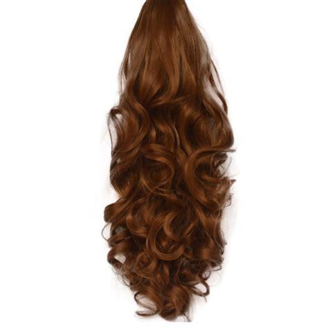Hair Extension Hair Clip Poni Hairclip Hair Klip ponytail clip in on hair extensions reversible all