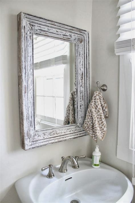 shabby chic bathroom mirrors 30 shabby chic bathroom design ideas to get inspired