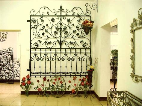 wrought iron decorations home the idea of using wrought iron metal at home