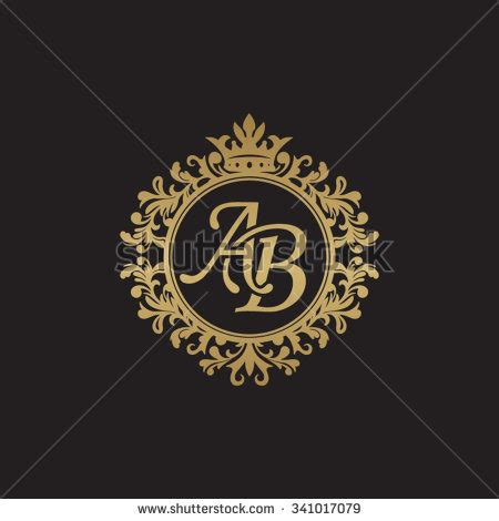 design online ab ab logo stock images royalty free images vectors