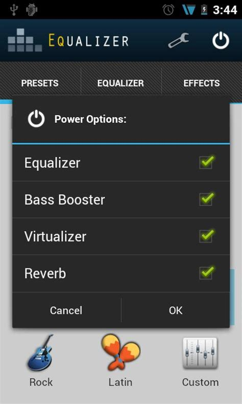 android equalizer equalizer unlock key para android
