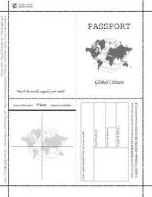 passport template for free printable passport book when image results