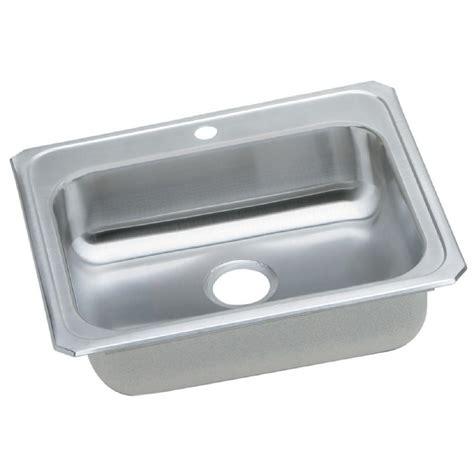 Drop In Stainless Steel Kitchen Sink Moen 1800 Series Drop In Stainless Steel 25 In 4 Single Bowl Kitchen Sink G181954 The