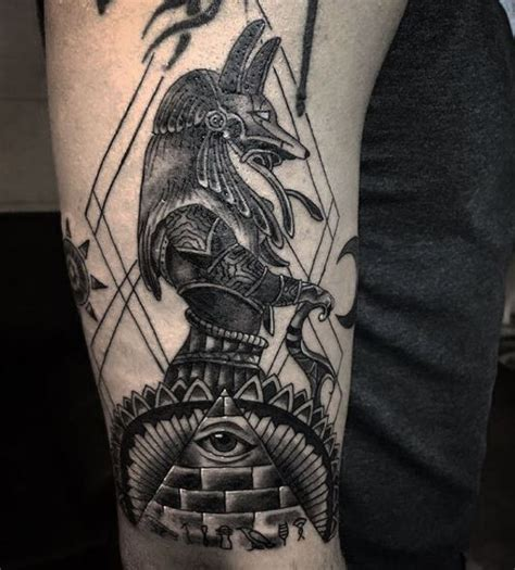 anubis egyptian god tattoo www pixshark com images