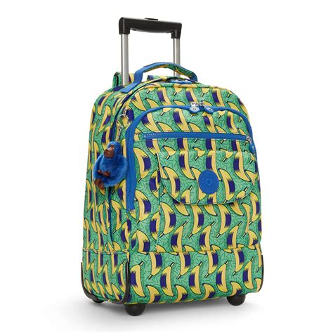 Printed Backpack kipling sanaa printed rolling backpack ebay