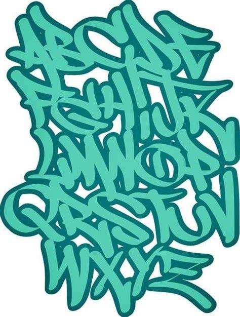 graffiti letters   graffiti  wildstyle green