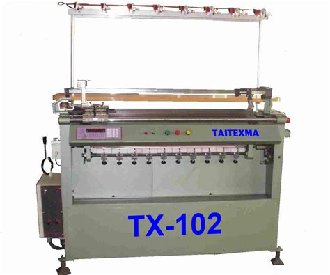 flat machine knitting taitexma enterprise corporation