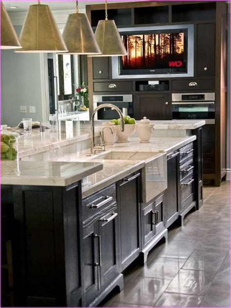 Kitchen Island With Sink Kitchen Islands With Sink Dishwasher And Seating Kitchen Pinterest Dishwashers Sinks And