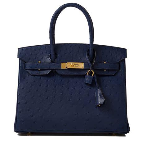 Tas Hermes Birkin Himalaya Fashion hermes birkin bag 30cm blue iris ostrich gold hardware world s best