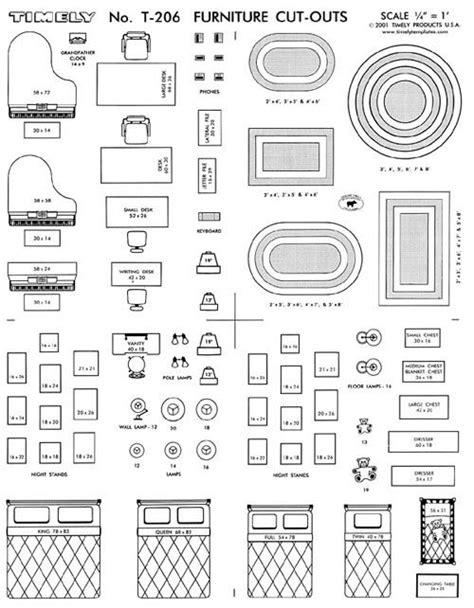 download free printable furniture templates for floor furniture arranging kit 1 4 scale interior design on popscreen