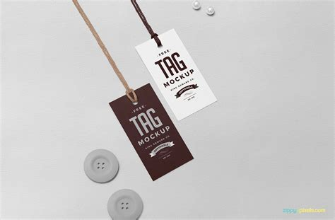 swing tag template free swing tag mockup zippypixels