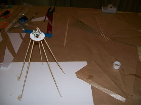 Make A Teepee Out Of Paper - all sorts s school project building a teepee