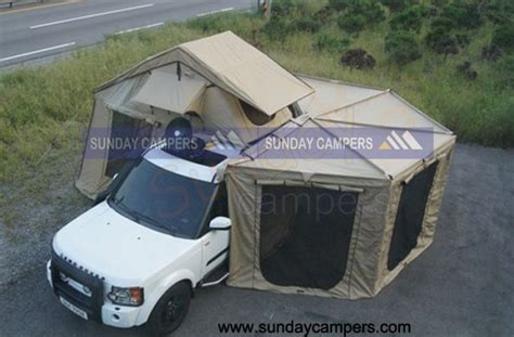 vehicle awning vehicle tent with awnings lr4 cool cing pinterest
