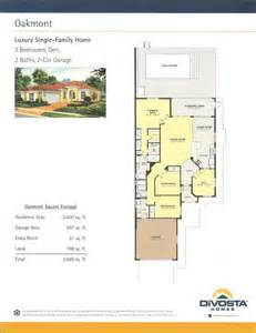 divosta homes floor plans village walk bonita springs oakmont