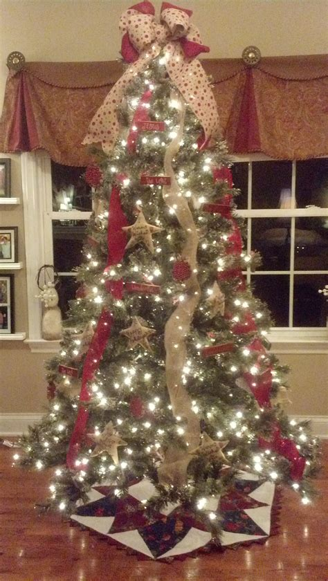 my burlap christmas tree 2013 christmas pinterest