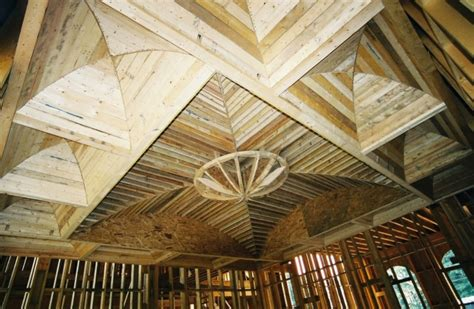 tray ceiling framing detail construction modern ceiling