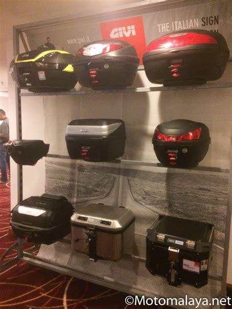 Helmet Arai Terkini Givi Launches New Square 32 Litre Givi B32 Bold Topcase
