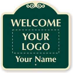 Welcome Sign Template by Custom Welcome Signs