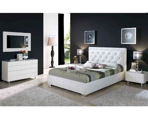next white bedroom furniture contemporary bedroom set in white finish 33b561