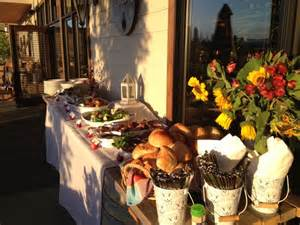 Bbq Buffet Table Ideas Wedding Buffet At Ancient Hill Winery Kelowna Southern