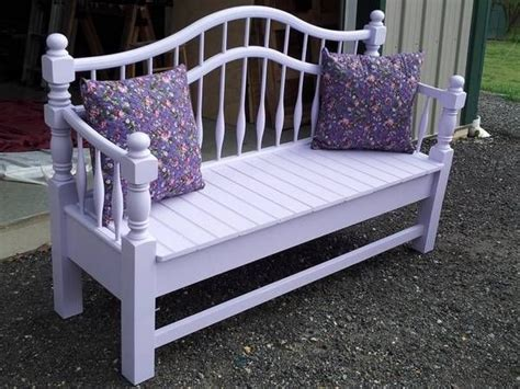 bench made from bed 170 best bench settee from a bed images on pinterest