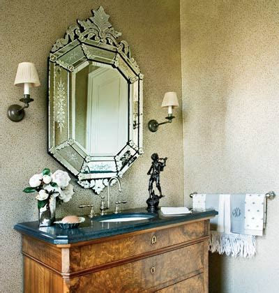 venetian mirror bathroom bathroom design venetian mirrors interiors by patti