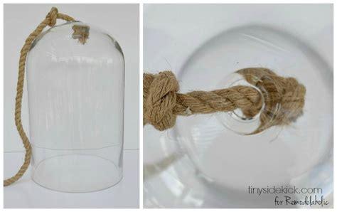 Diy Glass Pendant Light Evejulien Diy Glass And Himmeli Pendant Light
