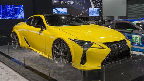 lexus sema 2016 sema 2016 lexus lc500 automobile