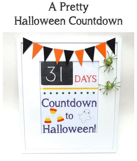 Home Decor Kids diy halloween countdown smart school house