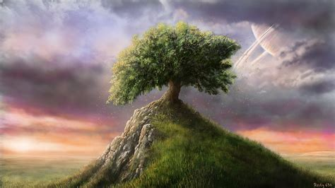 Lone Landscaping Lone Tree By Rasty690 On Deviantart