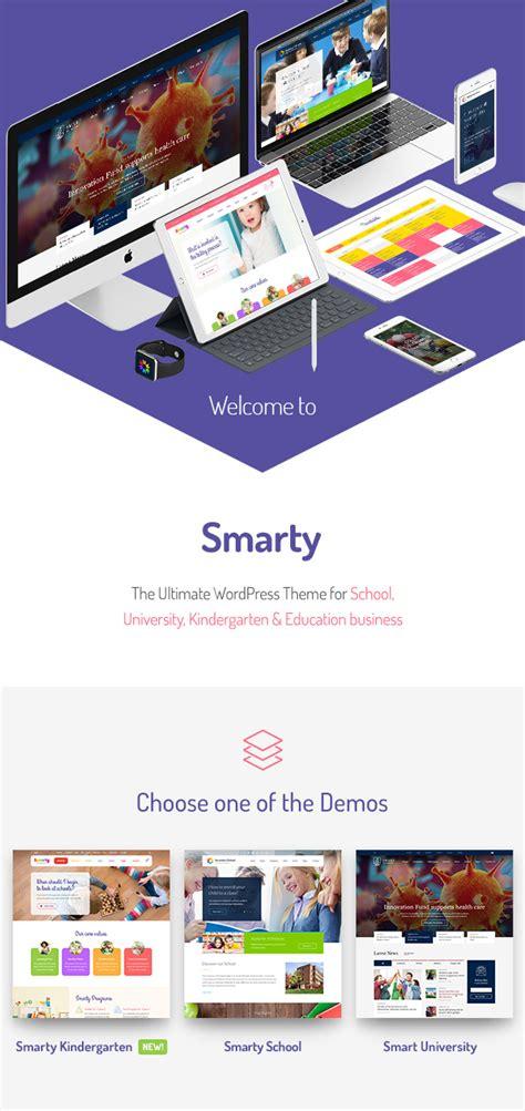 education themes html smarty kindergarten school university college
