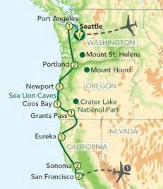 image result for california portland seattle road trip