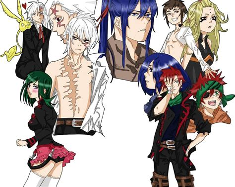 d gray man wikipedia characters d gray man cast by heyhey00 on deviantart