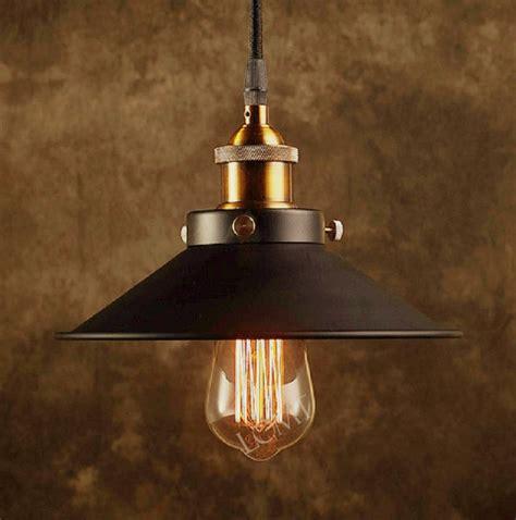 metal ceiling light shades modern vintage industrial metal black bronze loft bar