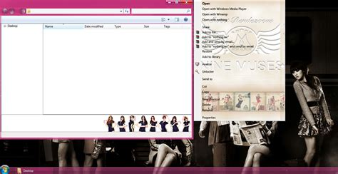 download theme kpop windows 8 my kpop fanatik nine muses ticket windows 7 theme download