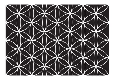 pattern flower of life the aviary new clear st release