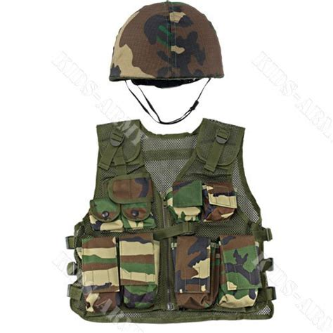 Kid Vest Abu Rdr army helmet and combat vest buy in uae products in the uae see