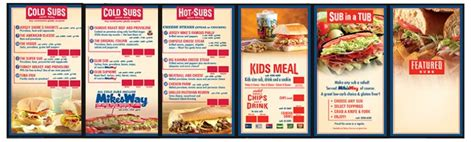 dunkin donuts light menu networked wall solutions