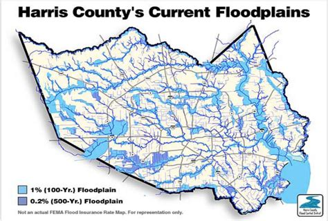 harris county flood map the 500 year flood explained why houston was so underprepared for hurricane harvey vox