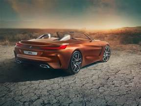 bmw unveils new z4 concept sports car at pebble