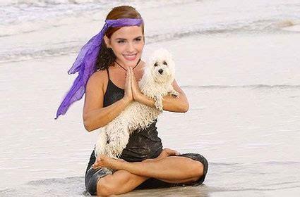 emma watson yoga emma watson is an actual yoga instructor for real
